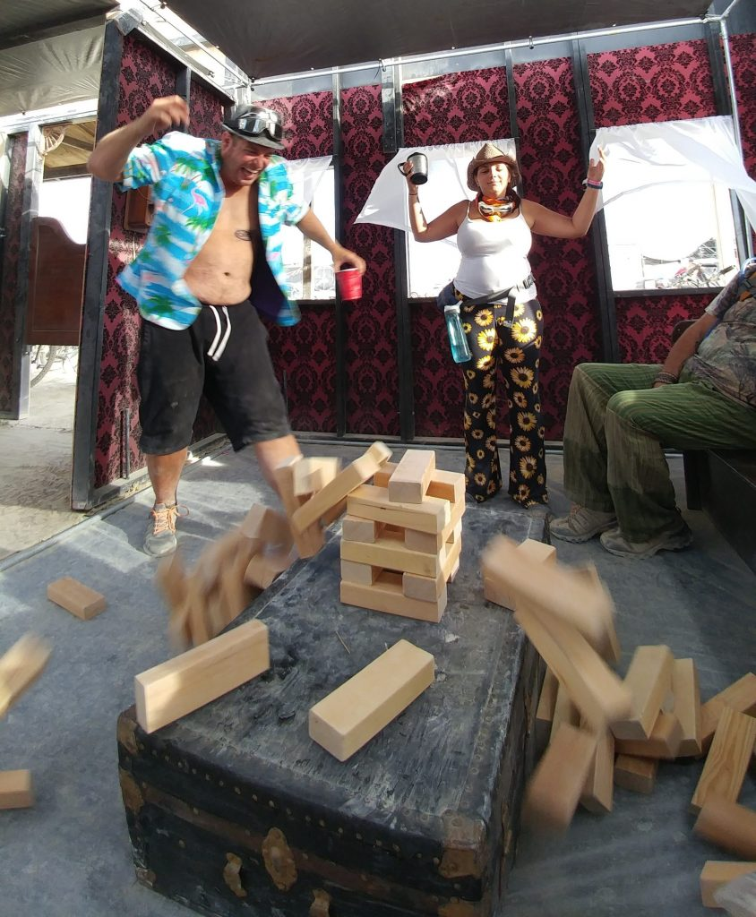 Burning Man 2016 - Jenga