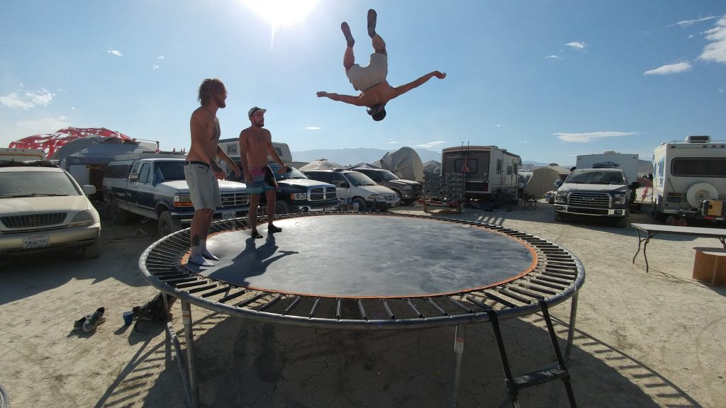 Burning Man 2016 - Trampoline