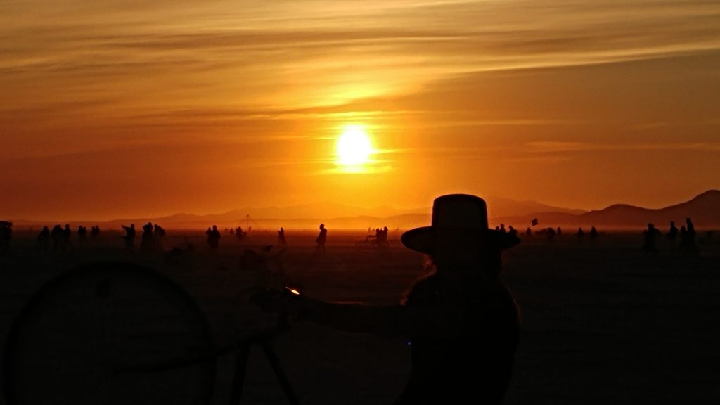 Burning Man 2016 - Sunrise
