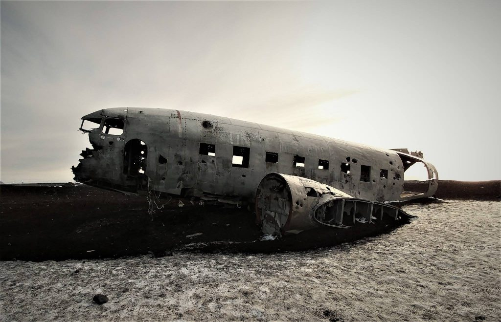 DC-3 Plane Crash in Iceland