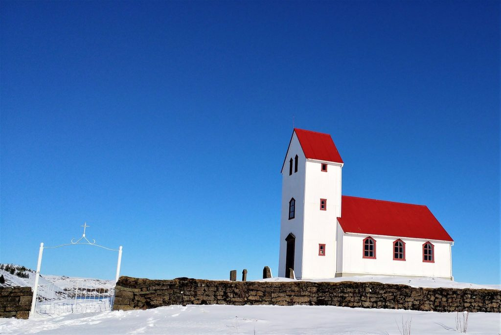 A Church In Þingvellir National Park