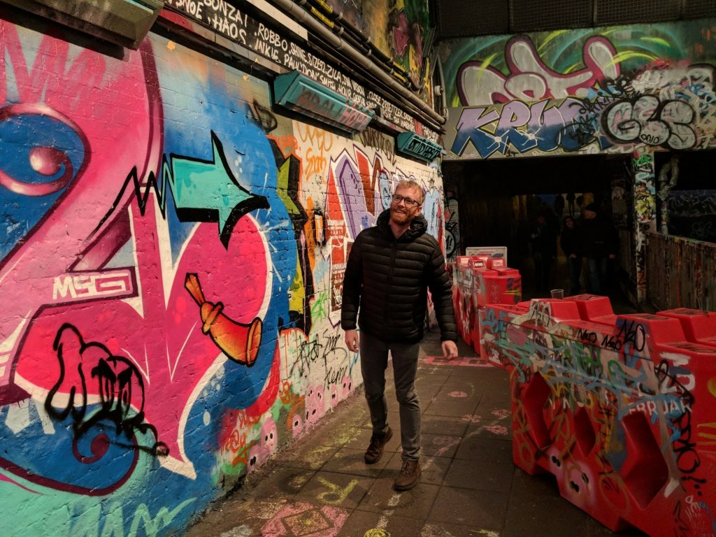 The Grafitti Tunnel - one of London's creative spots