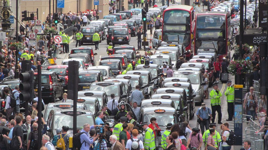 The chaos of London!